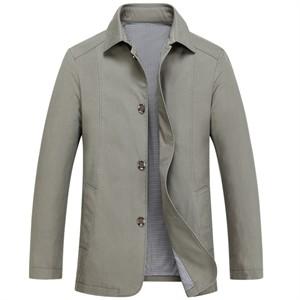 Áo khoác kaki nam trung niên cao cấp DNG - Màu xám