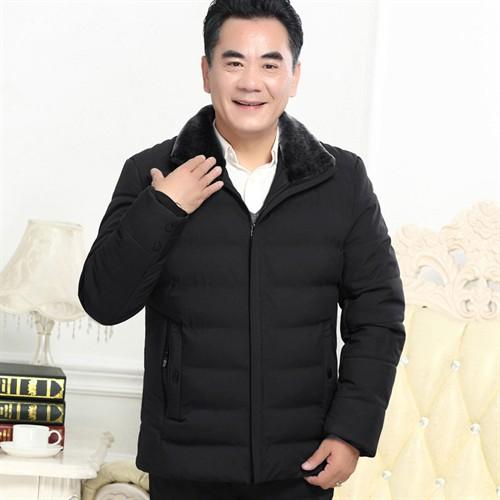 Áo khoác phao cổ lông cao cấp DNG