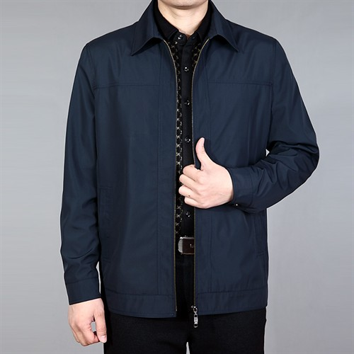Áo khoác trung niên nam DNG - Màu xanh