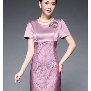 Đầm lụa cao cấp phong cách hoàng gia Silk