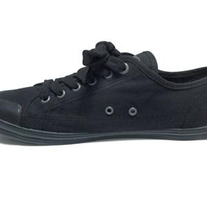 Giày Levi's nam màu đen cổ thấp