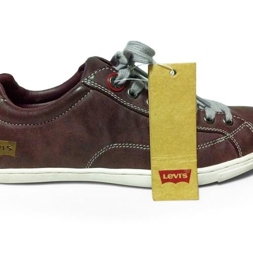 Giày Levi's nam màu đỏ rượu
