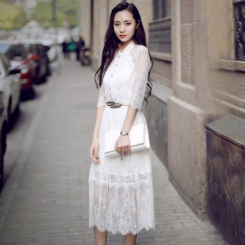 Váy ren cách điệu phong cách Hàn Quốc RJSTORY