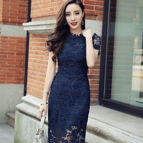 Váy ren sang trọng phong cách Hàn Quốc RJSTORY