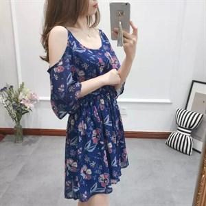 Váy voan chun eo Holi