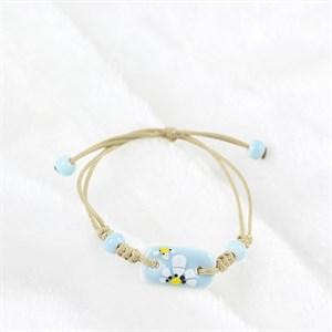 Vòng đeo tay handmade đá xanh xinh xắn
