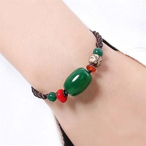 Vòng đeo tay handmade kết hợp đá quý