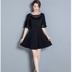 Váy nữ dáng xòe phong cách Hàn Quốc XZ6541