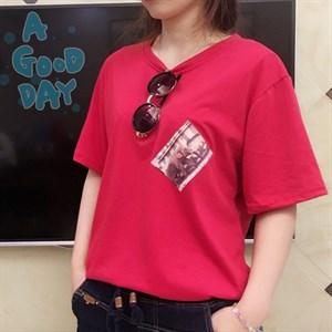 Áo phông túi ngực voi Sunny