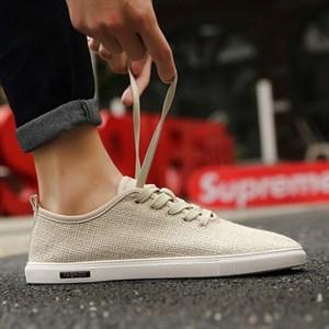 Giày vải nam USY (Màu be size 39)