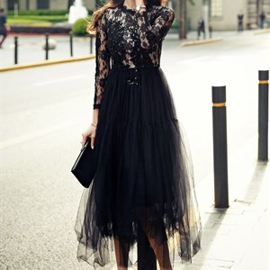 Váy ren nữ phong cách Hàn Quốc Pendulum