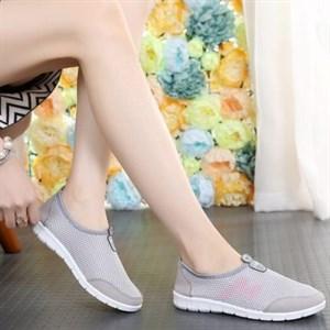 Giày lưới thể thao nữ FDR (Màu xám)