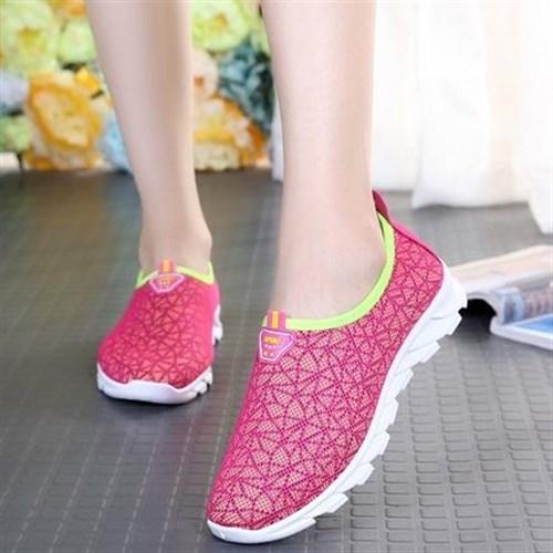 Giày lưới thể thao nữ Summer (Màu hồng)