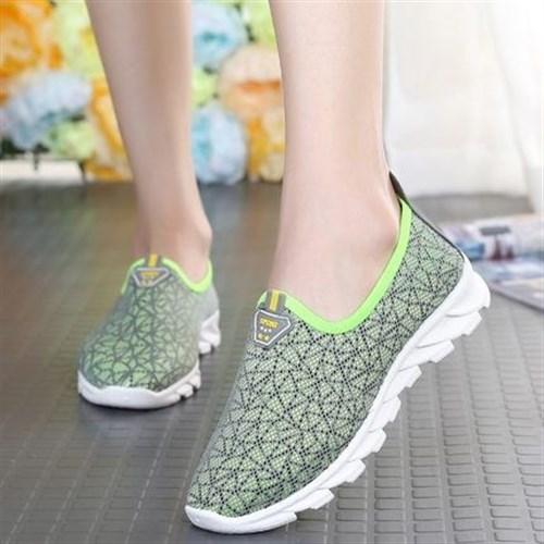 Giày lưới thể thao nữ Summer (Màu xám xanh)