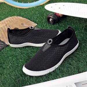 Giày thể thao vải lưới Lynx (Màu đen)