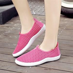 Giày thể thao vải lưới Lynx (Màu hồng)