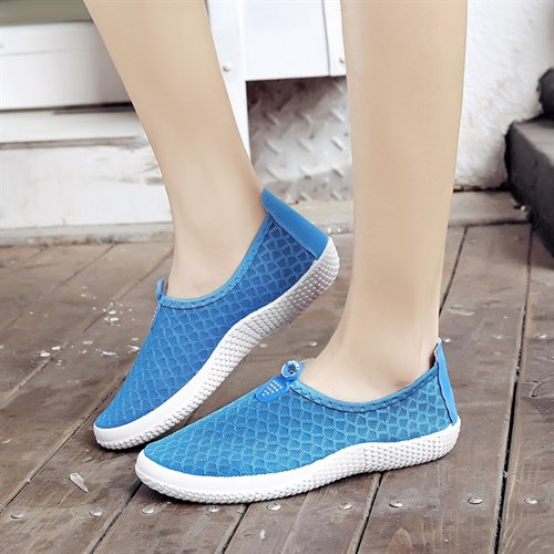 Giày thể thao vải lưới Lynx (Màu xanh)