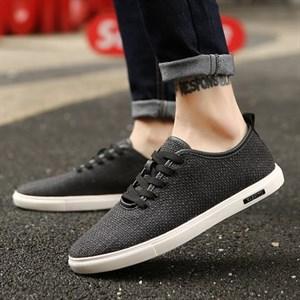 Giày vải nam USY (Màu đen)