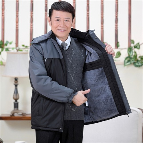 Áo khoác phao nam trung niên Tourez