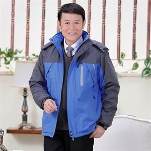 Áo khoác phao nam trung niên Tourez - Màu xanh