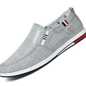Giày lười nam CONXEGN - Màu xám 39