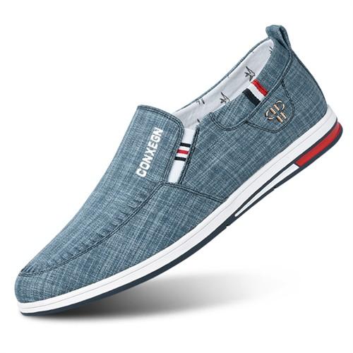 Giày lười nam CONXEGN - Xanh 40