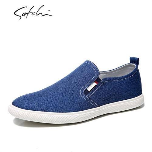Giày vải nam Satchi - Xanh 39