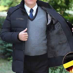 Áo khoác phao lông vũ nam trung niên ADG
