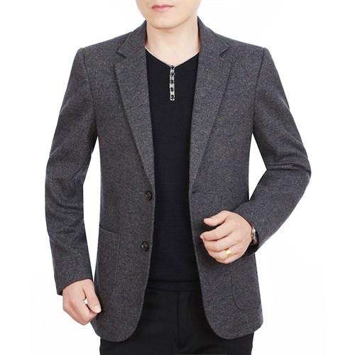 Áo vest dạ nam lông cừu 2 khuy GULL