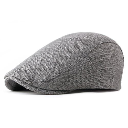 Mũ beret nam LAUREN - Màu xám