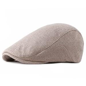 Mũ beret nam LAUREN - Be đậm