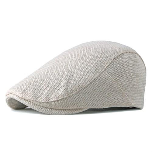 Mũ beret nam LAUREN - Be nhạt