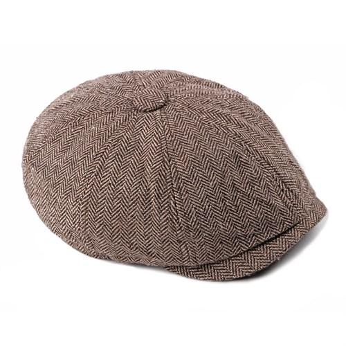 Mũ nồi bát giác nam CEQ - Màu nâu
