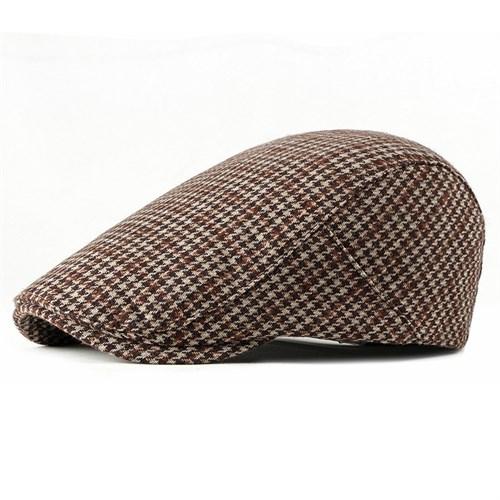 Mũ beret nam tuổi trung niên CEQ - Màu nâu