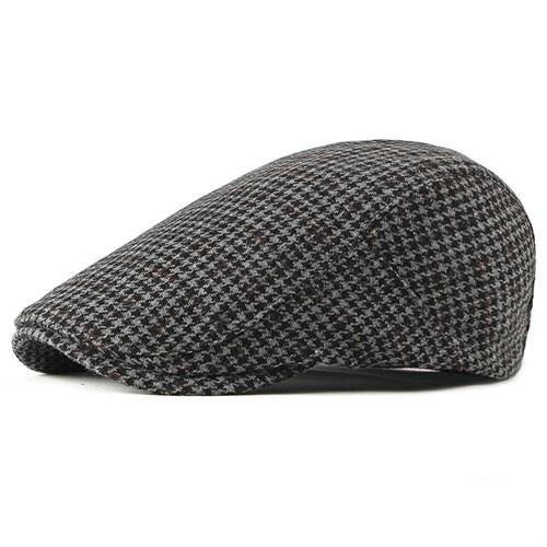 Mũ beret nam tuổi trung niên CEQ - Màu đen
