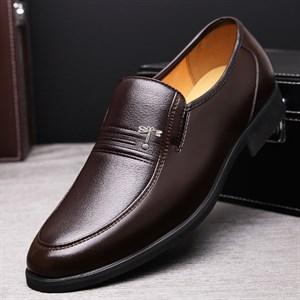 Giày da nam trung niên DARAGON-FLY Nâu 37