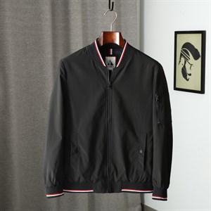 Áo khoác nam cổ bóng chày FNI - Màu đen