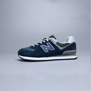 Giày thể thao nam chữ N - Màu xanh