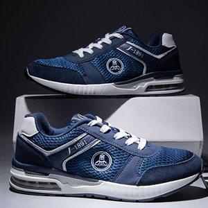 Giày thể thao nam đế đệm khí CPT - Màu xanh