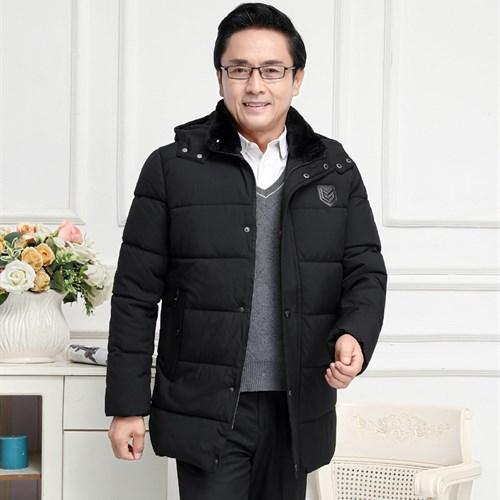 Áo khoác nam mùa đông cotton dày nhung BHG