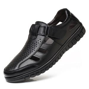 Giày da nam thoáng khí mùa hè GDD