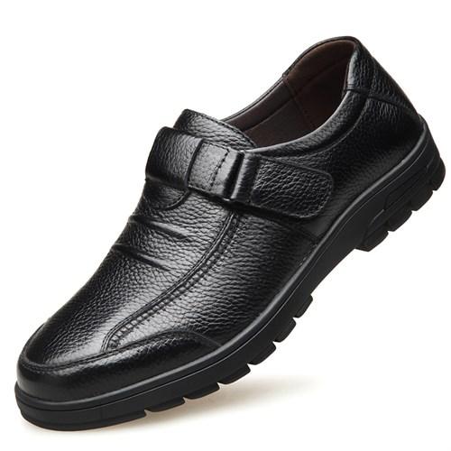 Giày da nam trung niên GDD - Màu đen
