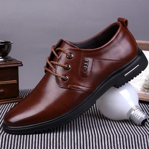 Giày nam da bò cao cấp CONXEGN - Màu nâu