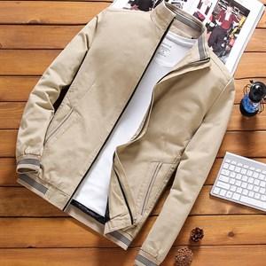 Áo khoác nam kaki lót lông PNG - Màu kaki