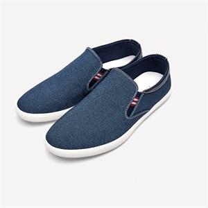 Giày slip on nam vải cao cấp HLA