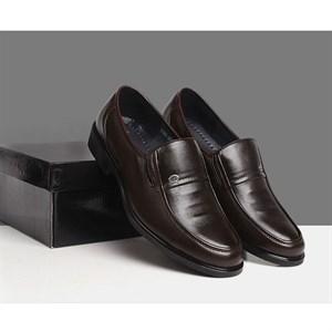 Giày lười da nam trung niên GST