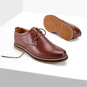 Giày nam da bò nguyên miếng QBT