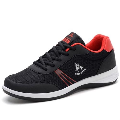 Giày thể thao nam thoáng khí NAIK PLLO - Màu đen