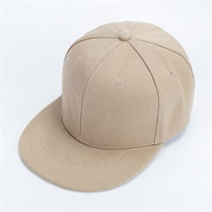 Mũ Snapback Hip Hop trơn - Màu Kaki