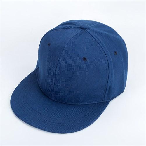 Mũ Snapback Hip Hop trơn - Màu xanh